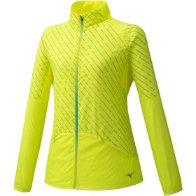Mizuno Reflect Giacca A Vento Donna, safety yellow